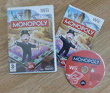 NINTENDO WII GAME - MONOPOLY BOARD GAME - COMPLETE - PAL UK