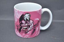 Disney 101 Dalmatians Cruella Deville Coffee Mug 16oz Retired Disney Store