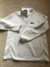 Auth Nwt Women's Patagonia Better Sweater Marsupial Beige Size Xl X-Large