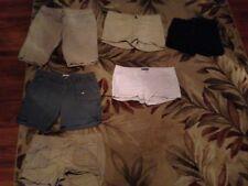 choice 1 AMERICAN EAGLE WOMEN shorts khaki sz 6,8 greensz 6 white 8 SHORTS