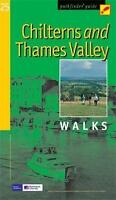 Chilterns and Thames Valley Walks (Ordnance Survey Pathfinder Guide)-ExLibrary