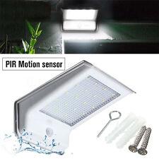 20 LED Solaire Détecteur Mouvement Sécurité Lampe Lumières Projecteur Extérieur