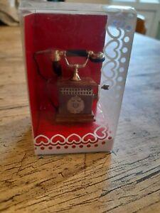 Bodo Hennig Dolls House Telephone Vintage -Rare 1/12 scale.
