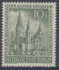 Germany Berlin 1953 ** Mi.107 Kaiser-Wilhelm-Gedächtniskirche | Church