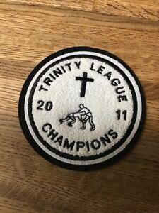 2011 Trinity League  Wrestling  Chenille Felt Letterman Jacket Patch