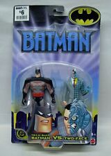 Batman the Animated Series Tech Suit Batman Two Face 2002 Series Mattel S122-14