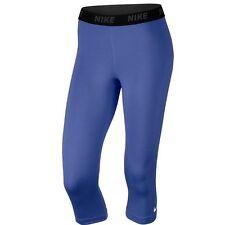 Nike coole Victory Dri Fit Training Caprihosen XS Damen $42 Komet Blau FreeShip