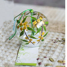 Birthday Gift Wedding Souvenirs Home Garden Window Decor Glass Windchime Bells