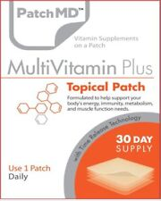 PatchMD Multivitamin Plus Topical Vitamin Patch 30 Day Supply Patch-MD EXP: 2022