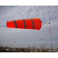 Windsock Reflective Outdoor for Airport Garden Lawn Wind Sock Bag Flag 40''