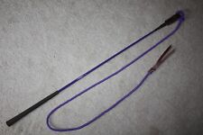 THOMEY NATURAL HORSE TRAINING HANDY STICK~HIGH QUALITY~WELL BALANCED~PURPLE