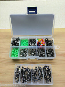 Sea Fishing Rig Set.Makes 50 + Rigs.Over 550 items in 2 Loaded Tackle Boxes.