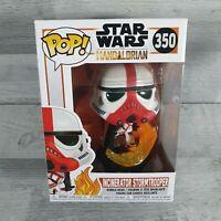 Star Wars Mandalorian - Incinerator Stormtrooper POP Vinyl Figure (350)