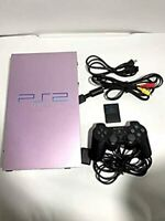 SONY PlayStation 2 SAKURA Color Game Console Japan Tested Working USED FedEx