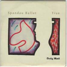 SPANDAU BALLET - TRUE - PROMO CD (2008) ORIGINAL 1983 ALBUM