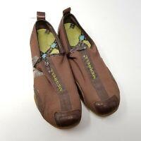 Merrell Women's Barrado Espresso Sneakers Zip Mesh Upper Leather Trim 8.5 Shoes