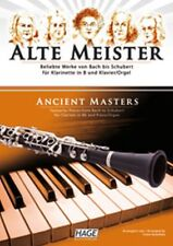 HAGE Kanefzky: ALTE MEISTER Spielbuch für B-Klarinette + Klavier/Orgel (EH 1514)