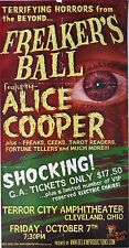 Alice Cooper 2005 Concert Poster