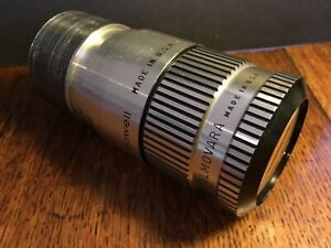 Bell and Howell 2 inch prime 16mm projection lens w/ zoom adaptor Filmovara