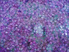 Sequins Flowers 13mm Lilac AB 25g Crafts Scrapbooking FREE POSTAGE