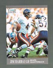 1991 fleer ultra #157 JIM HARBAUGH  Bears / Michigan / 49ers Head Coach