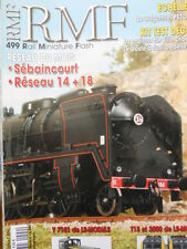 RMF Rail Miniature Flash n°499 2007 Le Reseau Sebaincourt  [TR.33]