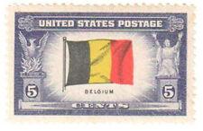 SC#914 - 5c Overrun Countries - Belgium Single MNH