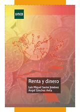 UNED Renta y Dinero, L.M. Sastre Jiménez y A. Sánchez Ávila, eBook, 2012