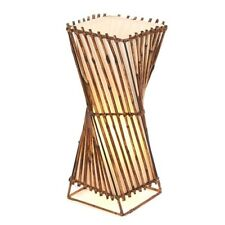 Rattan Twist Lamp-50cm/Handcrafted/Rustic