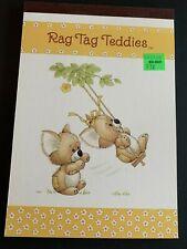 Vintage Rag Tag Teddies swinging Sangamon Tablet Ruth Morehead