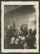 orig. Foto Rhenania Jena Studentenverbindung Mensur Gasthof Zur Weintraube 1929