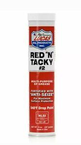 "Lucas 10005 Red ""N"" Tacky Grease 14 Oz Cartridge"