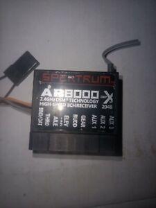 AR8000 8 Channel Receiver Satellite For Spektrum DX7s DX8 DSMX DX9 Transmitter