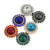 Elegant Muslim Magnetic Brooch  Pin Clip Scarf Buckle Round Magnetic Jewelry