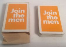 """Old Holborn """"JOIN THE MEN"""" Playing Cards"""