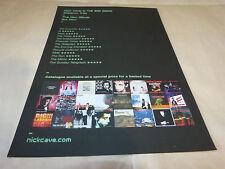 NICK CAVE & THE BAD SEEDS - Publicité de magazine / Advert !!! SKELETON TREE !!!