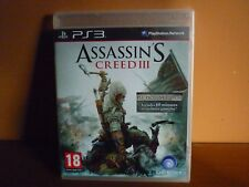 Assasins Creed 3 III PS3 PAL European 2, BLES 01668 , Sealed, Exclusive Edition