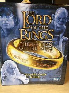 Lord of the Rings The Return of the King Binder by Topps 2003