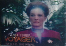 1995 STAR TREK VOYAGER SEASON 1 SERIES 2 SKYMOTION LENTICULAR TRADING CARD