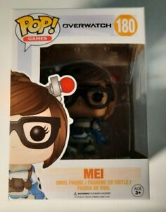 Overwatch Mei Pop Figure Blizzard Games #180 New