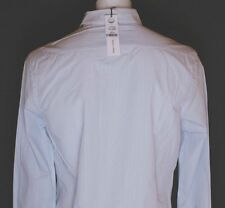 BNWT AUTHENTIC MEN'S FULL CIRCLE LONG SLEEVED SHIRT LARGE BLUE WHITE