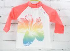 Coolibar Rash Guard Long Sleeve Sun Protection Swim Shirt Baby Size 6-12M UPF 50