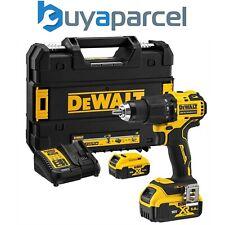 Dewalt DCD709P2T 18v XR Brushless Compact Combi Hammer Drill Tstak - 2 x 5.0ah