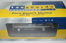 Vanguards Collectors Club - FORD ESCORT MEXICO - CHROME SEALED Mint/Boxed