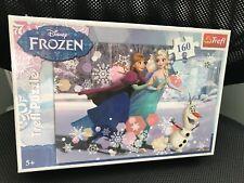 Trefl Disney 160 Piece Jigsaw Puzzle For Kids Frozen Ice Skating
