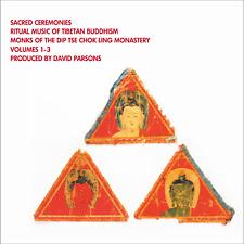 SACRED CEREMONIES: RITUAL MUSIC OF TIBETAN BUDDHISM - 3-CD BOXED SET