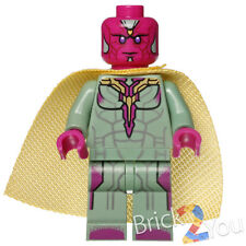 Lego Marvel Super Heroes Vision Minifigure Only from 76067 Tanker Truck Takedown