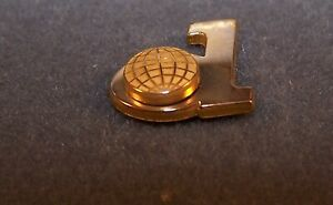 DynCorp Tie Pin by OC Tanner – Marked 1/10 10K
