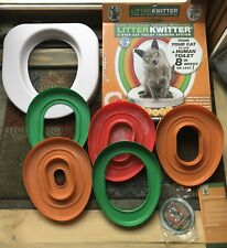 LitterKwitter Cat Toilet Training System - 2 extra rings included