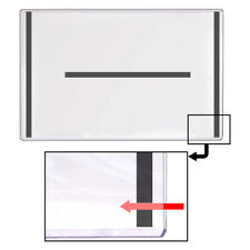 "StoreSMART Magnetic-Back Rigid Frame Toploaders 11"" x 17"" 25Pk  HPP11X17M-25"